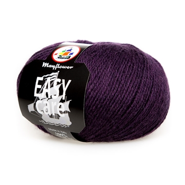 Mayflower uldgarn easy care aubergine