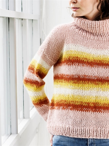 Mohairsweater fra Onion Knit i Mohair+Wool