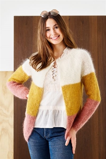 Raglancardigan Bella by Permin